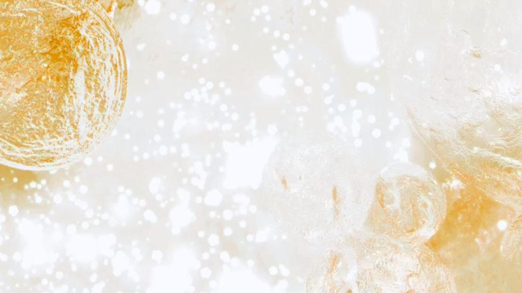 キラキラ 背景 水 金色 ゴールド